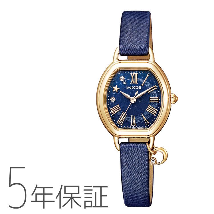 wicca ウィッカ KP2-523-70 シチズン CITIZEN 100周年ムーンコレクション チャーム レディース 腕時計