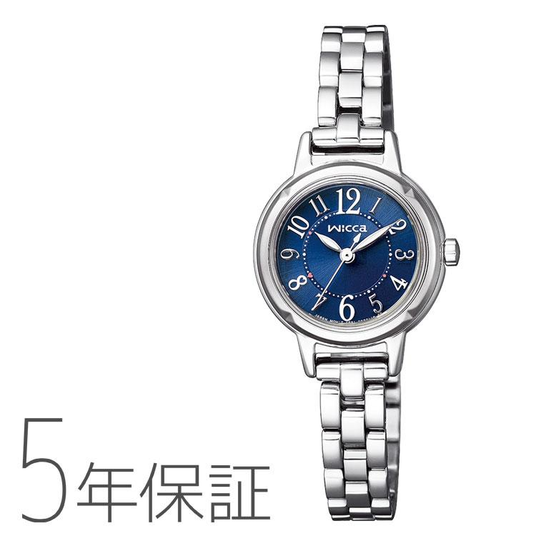 wicca ウィッカ KP3-619-71 シチズン CITIZEN ソーラーテック ブレスウォッチ レディース 腕時計