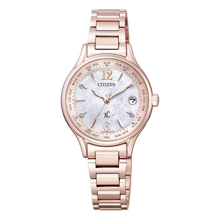 xC クロスシー EC1164-53X シチズン CITIZEN New Time,New Me 特別限定モデル ティタニアライン サクラピンク 腕時計 レディース