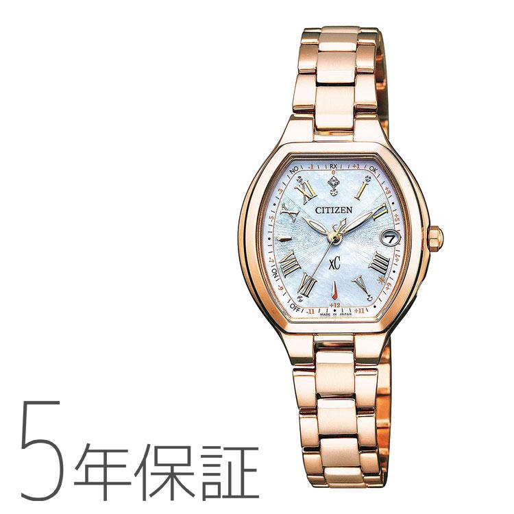 シチズン クロスシー エコ・ドライブ ソーラー電波時計 ハッピーフライト 限定モデル 腕時計 レディース CITIZEN xC ES9362-52X