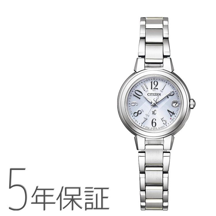 xC クロスシー ES9430-54B シチズン CITIZEN 電波ソーラー ハッピーフライト ステンレス レディース 腕時計