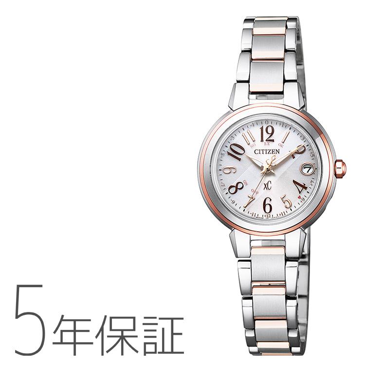 xC クロスシー ES9434-53X シチズン CITIZEN 電波ソーラー ハッピーフライト ステンレス レディース 腕時計