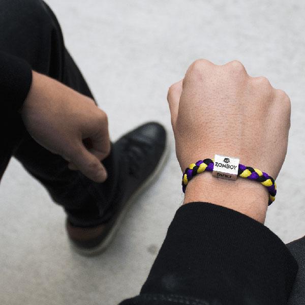 large choix de designs beau lustre 100% de satisfaction ELECTRIC FAMILY - bracelets (ZOMBOY / son boy)