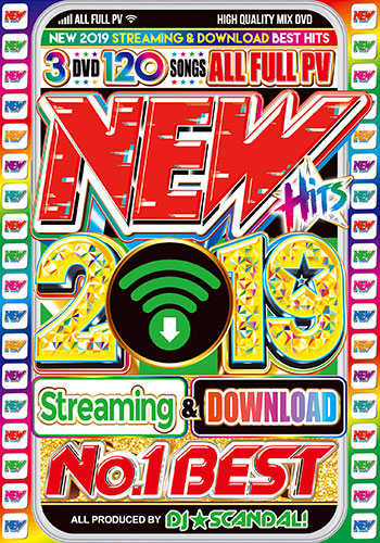 Class 2019 most new song Western music best hit Western music DVD New Hits  2019 No  1 Best - DJ ☆ Scandal! 3DVD three pieces country board