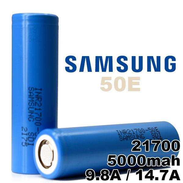 供え 21700 バッテリー サムスン 電子タバコ VAPE ブランド激安セール会場 電池 Samsung 50E 5000mAh 1個 MOD 充電可能 メーカー正規品