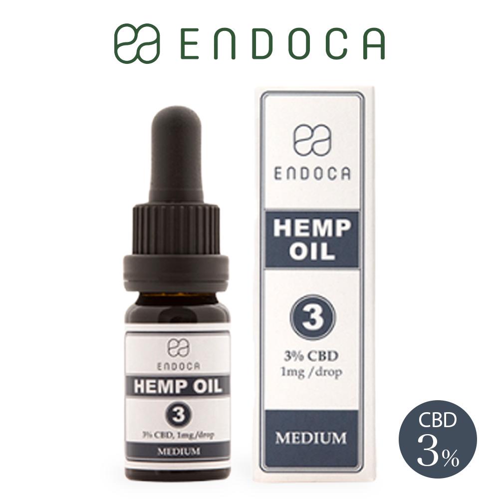 CBD界のパイオニアブランド ENDOCA CBD オイル CBD オイル 300mg 容量10ml 濃度3% ENDOCA エンドカ oil 高濃度 不眠 ストレス リラックス 快眠 リキッド