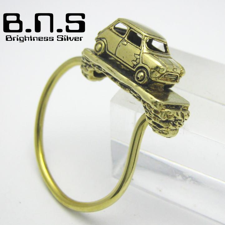 Brightness Silver Mini Mini Key Ring Key Ring Brass Brass Key