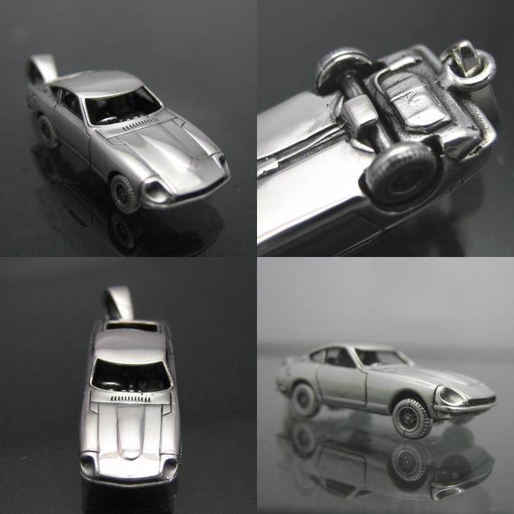 【楽天市場】クラシックカーペンダント 5【Z240】銀 シルバー925 (旧車 日本車 国産車 名車