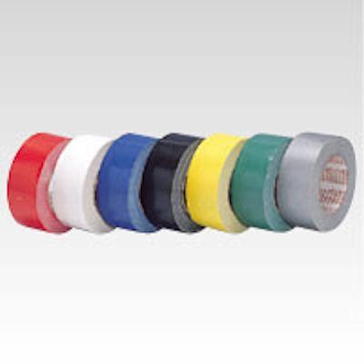 お気にいる 薄手でも粘着力は優秀 豊富なカラーでいろんな用途に 重量物の識別封かん 結束 補強に テープ厚:0.22mm カラー布テープ廉価版 5%OFF ニチバン 巾50mm×長25m