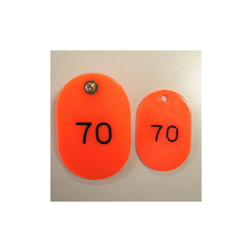 クラウン 親子札 <2枚1組>スチロール製 CR-OY100-R/赤【a06037】