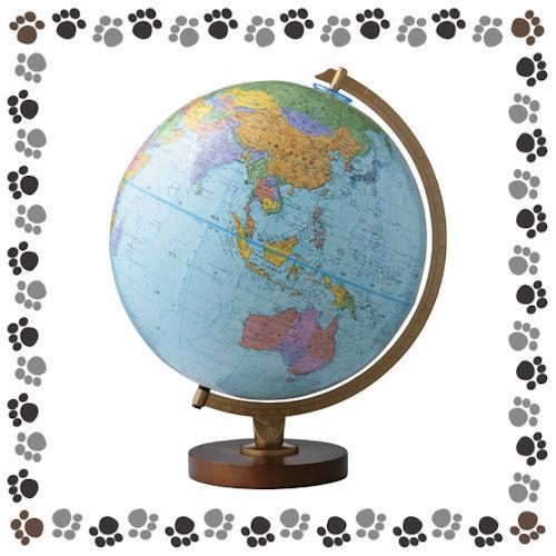【送料無料】リプルーグル 地球儀(エンデバー型/行政図) 30573 【2920030】