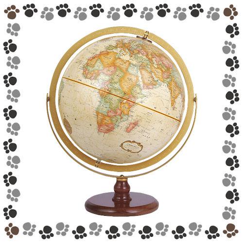 リプルーグル 地球儀 ラ・グレンジ型(行政図) 31874【2920020】
