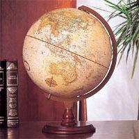 【送料無料】ワールドオーシャン ワールドクラッシック表面地球儀「リノックス型」 31573【a07414】