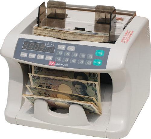 【送料無料】【取寄せ品】エンゲルス 偽造券発見機能付紙幣計数機 EUV-750【a62284】