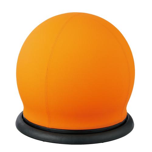 【イチオシ家具】CMC スツール型バランスボール 回転タイプ  BC-B OR オレンジ 【メーカー直送】【代引き不可】【j-852547】