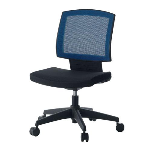 【プラス家具】【送料無料】ジョインテックス オフィスチェア 事務イス GX-70 BL ブルー【組立・設置無料】【メーカー直送】【代引き不可】【364231】