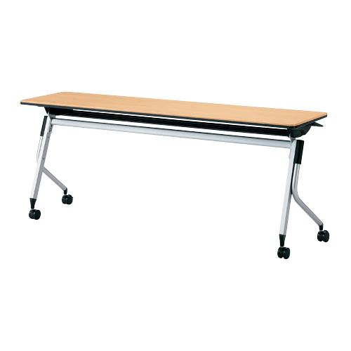 【イチオシ家具】プラス(PLUS) リネロ2 会議テーブル フォールディングテーブル 棚付 LD-620 WM ホワイトメープル 【メーカー直送】【代引き不可】【j-610361】