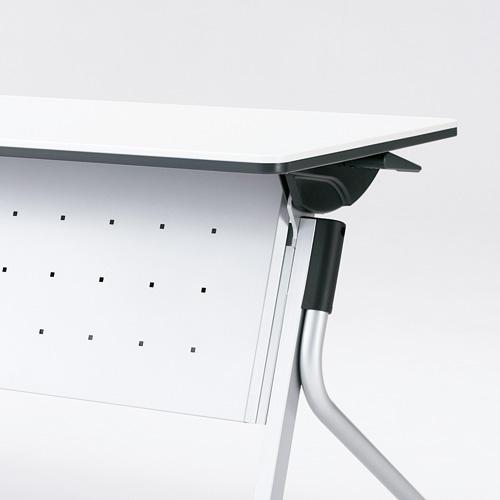 【イチオシ家具】プラス(PLUS) リネロ2 会議テーブル フォールディングテーブル用幕板 LD-M1800  M4 シルバー 【組立・設置無料】【メーカー直送】【代引き不可】【j-610391】