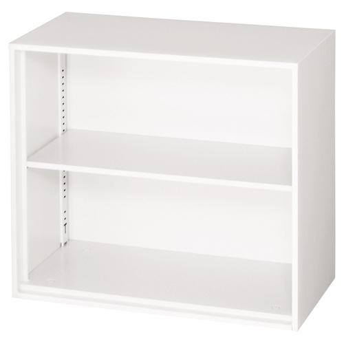 【イチオシ家具】 ジョインテックス オープン書庫 上置 LGT-802E ネオホワイト 【組立・設置無料】【メーカー直送】【代引き不可】【j-345325】