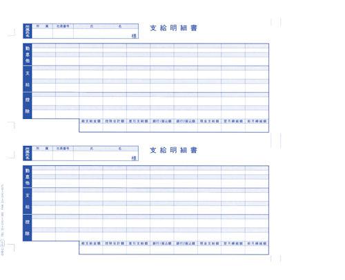 【送料無料】オービックビジネスコンサルタント 単票給与明細書 6101【j370854】
