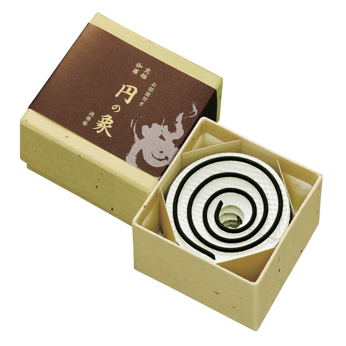 《伽羅の香り》【お香 伽羅】【渦巻線香】【お香 ギフト】【天然香木】究極伽羅 円の象
