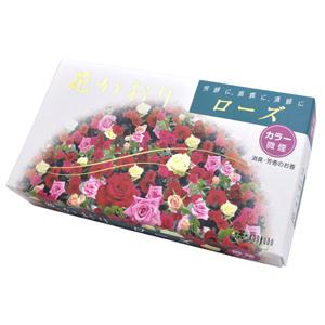 線香 ローズのかおり 洋風の香り けむりの少ないお線香 バラの香り 春の新作 微煙タイプ 花かおり お香 洋風 ローズ 価格 交渉 送料無料