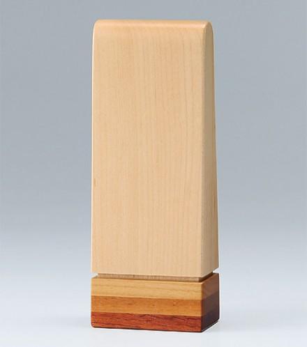 【寄木位牌】【アンナプルナ】【位牌モダンミニ】【文字色 濃い茶色】【お位牌3.5寸】アンナプルナ 3.5寸