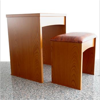 【現代仏具】【仏壇台 椅子付き】【仏壇台 おしゃれ】【高60幅50奥40】【送料無料】仏壇台 いろは