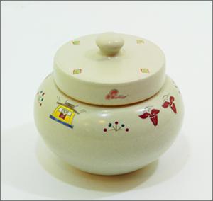 【現代仏具】コアボトル(骨壷) ~赤膚焼~ (グレー)