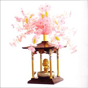 《花まつり》【花御堂】【桜冠】【お釈迦様】【お釈迦様を祝う】花御堂用桜冠かざり