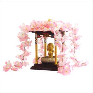 《花まつり》【花御堂】【花御堂桜屋根飾り】花御堂用桜屋根かざり