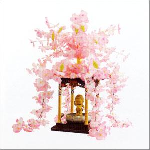 【寺院用仏具】花御堂用桜冠・屋根かざりセット