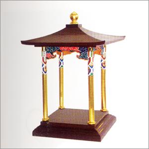 (寺院用仏具・花祭り・花祭り用品) 花御堂(うるみ塗)