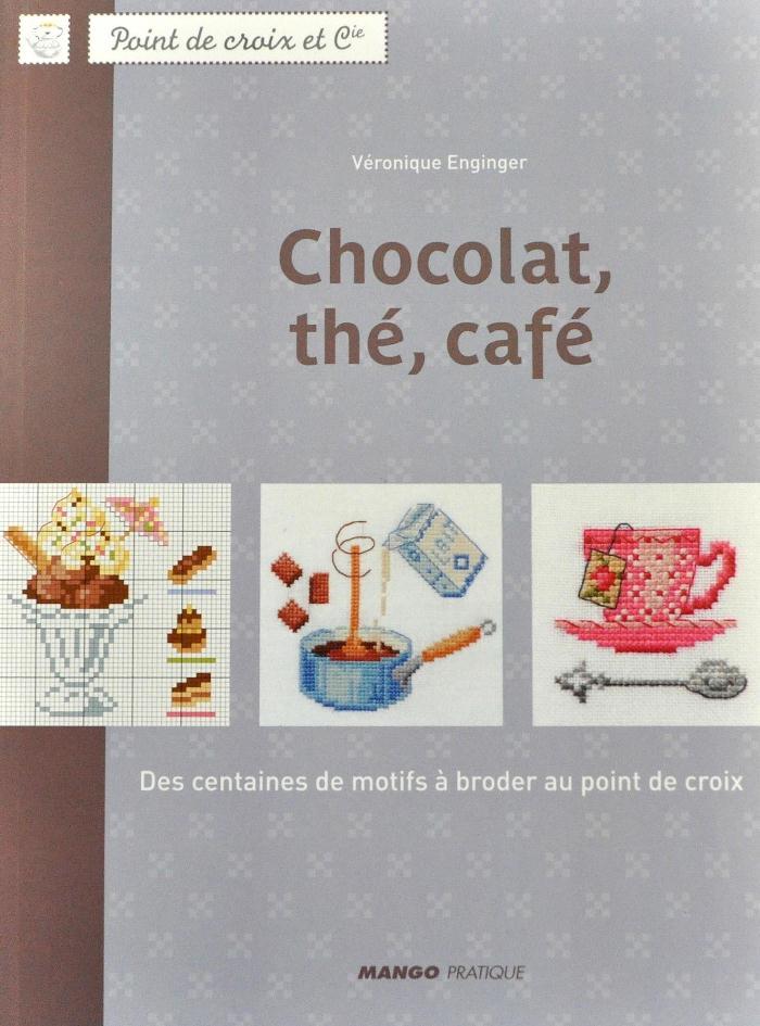 フランスより入荷しました 再入荷 ※在庫限り 洋書 MANGO 割引 クロスステッチ図案集 16 大好評です Chocolat 14458-1 the あす楽 HLS_DU cafe