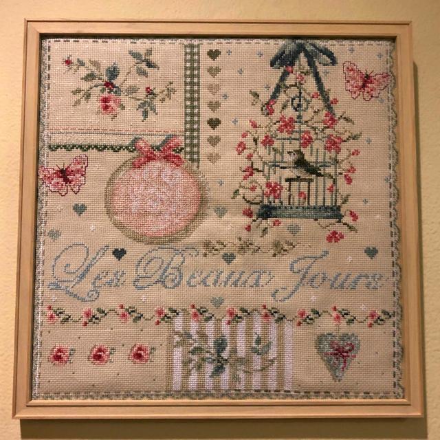 ★新発売★【Madame la Fee】 マダムラフェ クロスステッチ 刺繍キット 143 Les Beaux Jours 美しい日々 【送料無料】【あす楽】【HLS_DU】
