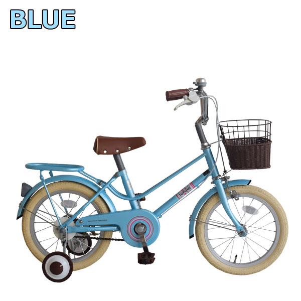 【限定特典付き】子供用自転車 16インチ キッズバイク 16インチ 男の子 女の子 子供用 カゴ・補助輪付 幼児車 オシャレ 幼児用自転車 TOPONE トップワン かわいい インスタ映え 2色 ピンク ブルー 自転車 NV16