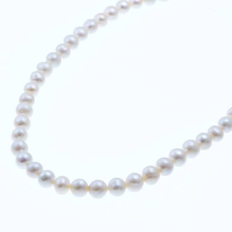 【送料無料】 silver×gold ring clasp short necklace シルバー×ゴールド クラスプ ショート パールネックレス 特別クラスプパーティー 結婚式 プレゼント 誕生日 記念日