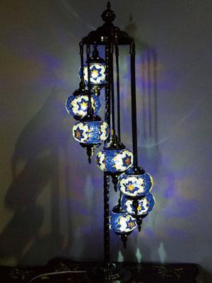 Is A Friendly Turkey Wind Mosaic Lamps 7 Light Eyes In The Healing Light!  All ...