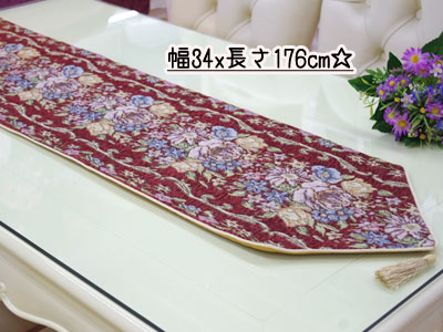 I Decorate Party 30*180cm Rose Tablecloth Cross Letter Pack Classical Music  Bed Runner Bed ...