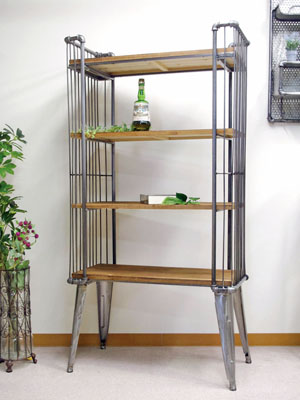 Storing Light Weight Display 86cm In Width With The Anchor Handsome Bookshelf Rack Shelf Antique