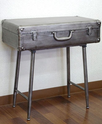 E Collection Handsome Trunk Table Bed Table Antique Assembling Bed
