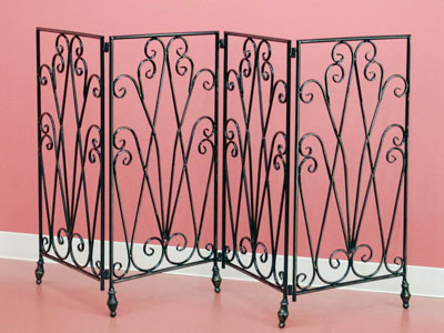 e-collection | Rakuten Global Market: 4-screen screen ☆ fence iron ...
