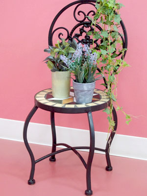 The Finished Product Which Is Assembling Free! A Flower Stands Garden Rack  Gardening Miscellaneous ...