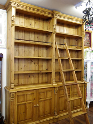 France Country Furniture Style Britain Ladder Bookshelf