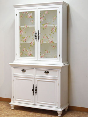 Rose Design With ♪ Kitchen Cabinets / Cupboards