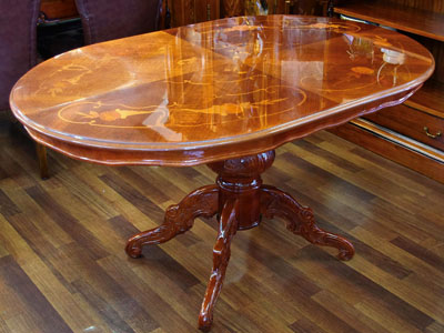 Product Made In Table Four Dining Room Italy Furniture Inlay Import Antique Gorgeousness High Quality Direct
