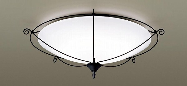 LGC51140 パナソニック シーリングライト ブラック LED 調色 調光 ~12畳