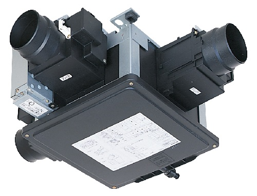V-180SZ4-N-B 三菱 24時間換気システム(非熱交換タイプ) 集合住宅向・天井排気エアフロー環気 サニタリー換気ユニット中間取付形