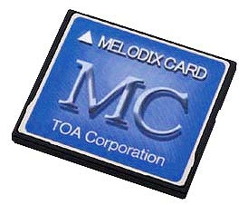 MC-1020 TOA メロディクスカード 工場向け