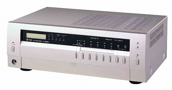 TA-2060R TOA 卓上型アンプ 60W 5局 ラジオ付